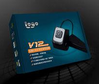 V12型行车记录仪包装设计