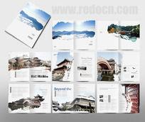 时尚中国风古典建筑画册