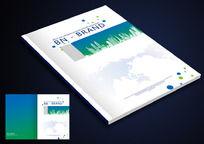 建筑公司画册封面设计