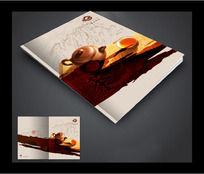 茶画册封面设计
