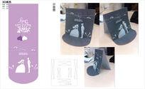 情人节3D立体纸艺卡片