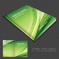 10款 绿色背景封面设计PSD下载