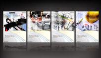 全套建筑企业文化展板