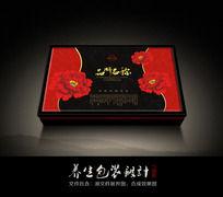 中医美容养生包装盒CDR