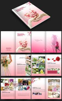 高端婚纱摄影公司画册设计