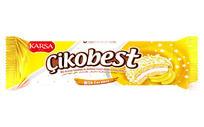 国外进口饼干欧美零食包装展开矢量图 香蕉巧克力包装