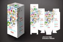 时尚电子产品包装盒素材