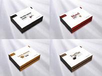 中国四大名菌包装盒设计 CDR