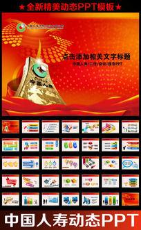 中国人寿保险公司会议报告PPT
