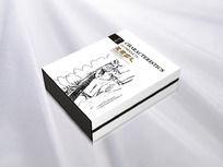 土特产盒子包装设计 CDR