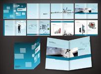 11款 建筑企业形象画册排版设计