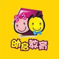 幼启教育早教标志 CDR