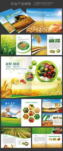 绿色健康农业蔬菜水果食品画册