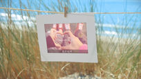 浪漫海边个人婚礼ae电子相册模板含音乐