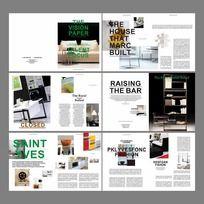 家具画册设计模板
