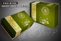 绿茶包装设计模板