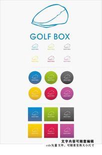 高尔夫生活标志设计 CDR