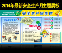 2014年最新安全生产宣传栏