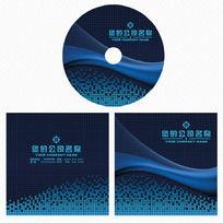 企业光盘封面设计模板