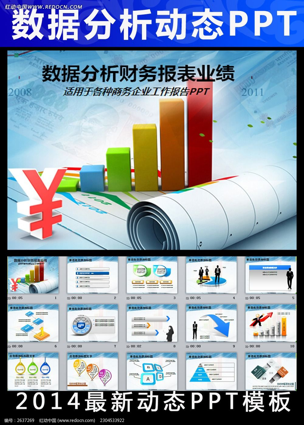 财务数据分析报告调研报告统计ppt