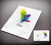 彩印公司宣传画册封面