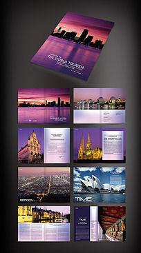 国外旅游宣传画册