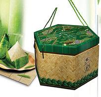 粽子包装设计PSD分层模板