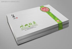 茶叶礼盒包装PSD分层文件模板