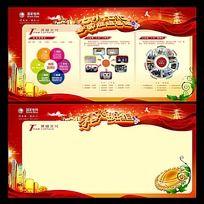 国家电网企业文化展板设计
