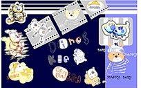 卡通动物印花图案图片
