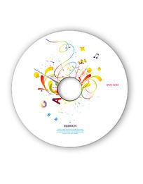 音乐光盘设计模板psd