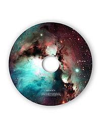 宇宙科技光盘封面设计