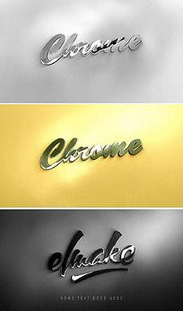 商务质感logo演绎AE片头模板