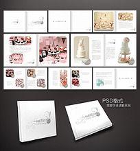 翻糖蛋糕画册设计