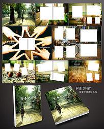 青春纪念册画册设计