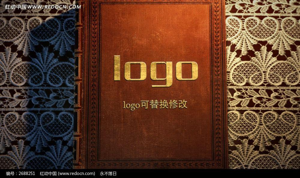 标签:创意书本翻页logo标志演绎 创意logo标志演绎片头ae图片