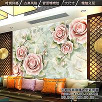 12款 大理石瓷砖电视背景墙