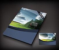风景书籍封面