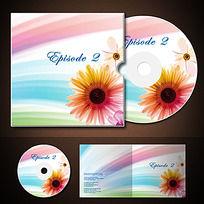 婚礼唯美CD封套光盘设计