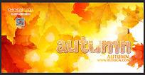 秋季新品背景素材