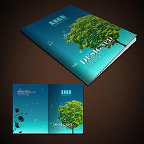 绿树环保画册封面