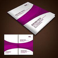 紫色曲线封面