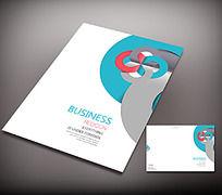 创意圆形商务封面