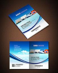 蓝色曲线科技公司封面