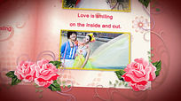 玫瑰婚礼AE视频