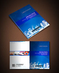 蓝色城市科技公司封面