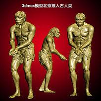 北京猿人3D模型 3dm