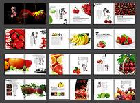 新鲜水果画册设计