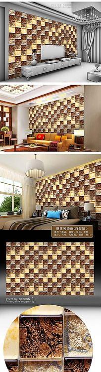 高贵陶瓷纹样装饰墙纸