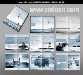 中国风企业宣传画册设计